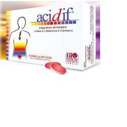 BIOHEALTH ITALIA Srl Acidif 30cpr