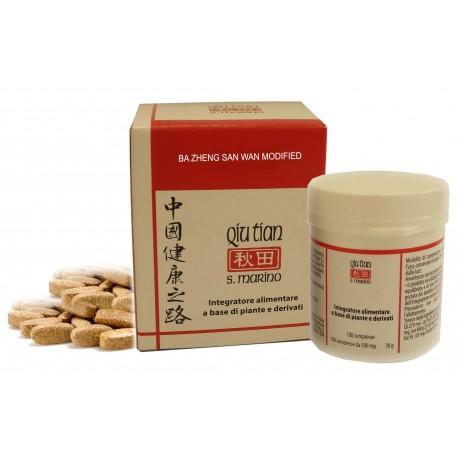 QIU TIAN Srl Ba Zheng San Wan Modified 100 compresse