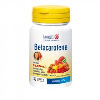 LongLife Longlife Betacarotene 25.000 30cpr
