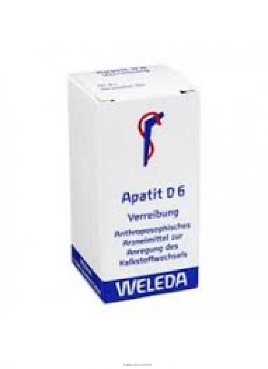 WELEDA ITALIA Srl Apatit D6 Tr 20g