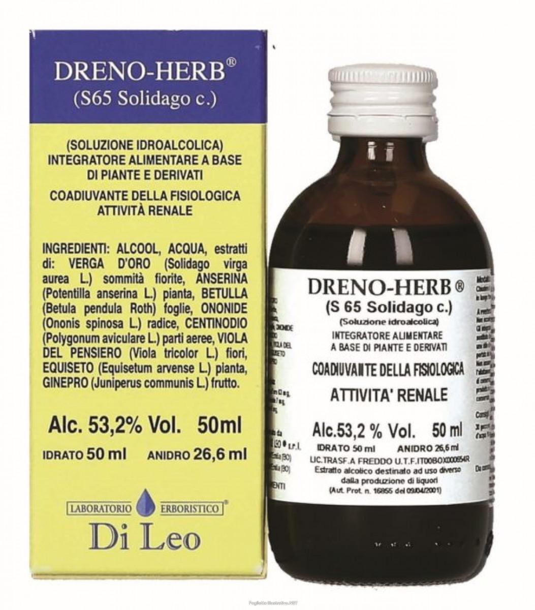 LABORATORIO ERBORISTICO DI LEO Dreno Herb S65 Solidago 50ml