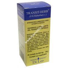 LABORATORIO ERBORISTICO DI LEO Transit Herb S36 Rabarbaro 45g