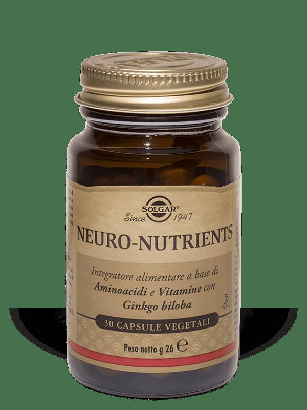 SOLGAR IT. MULTINUTRIENT SpA SOLGAR Neuro Nutrients 30 capsule