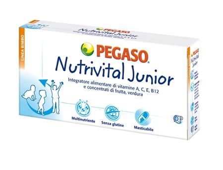 PEGASO Srl Nutrivital Junior 30cpr